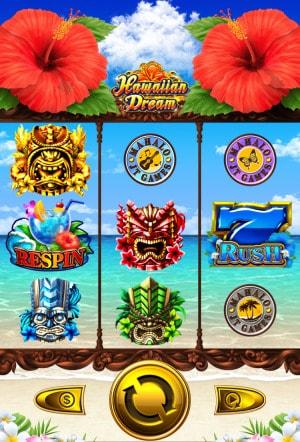 オンラインカジノ スマホ スロット画面