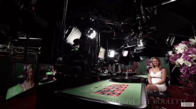 ライブカジノ 撮影画像