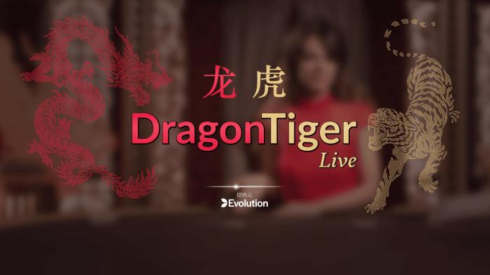 ドラゴンタイガー プレイ画面