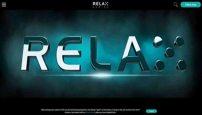 Relax Gaming社 公式画面