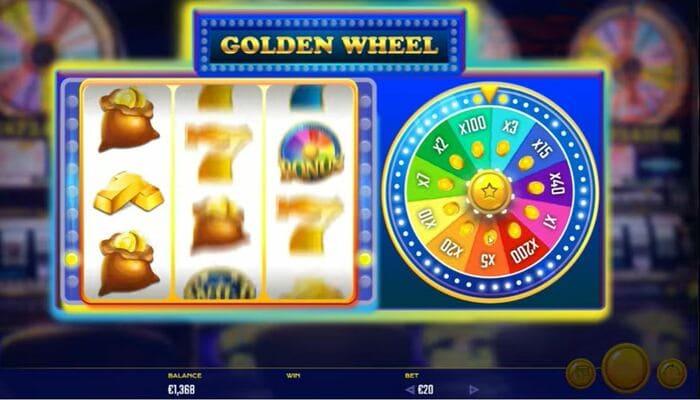 Golden Wheel プレイ画面