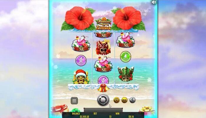 Hawaiian Dream Xmas プレイ画面