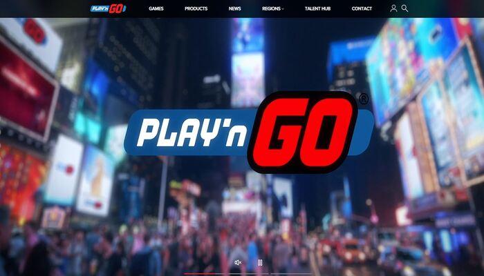Play'n GO 公式画面