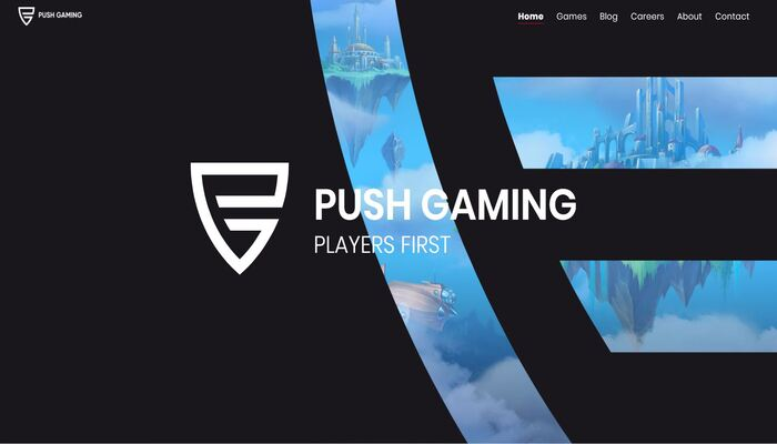 Push Gaming 公式画面
