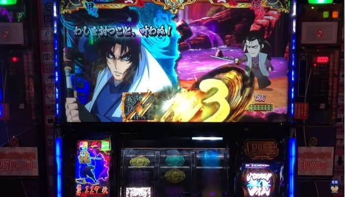 SLOTバジリスク~甲賀忍法帖~絆2 プレイ画面