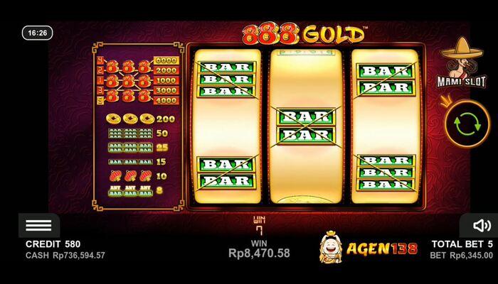 888 Gold ライン