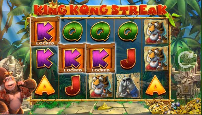 King Kong Cash プレイ画面