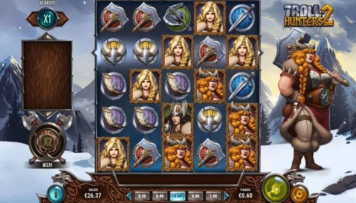 Troll Hunters2 プレイ画面